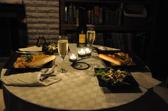 Image result for home dinner date