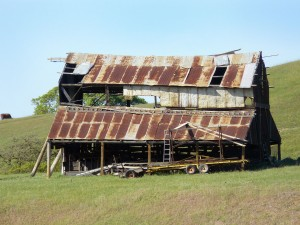 recycle this old barn