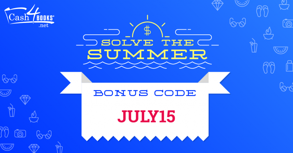 Selling Books with July Bonus Code