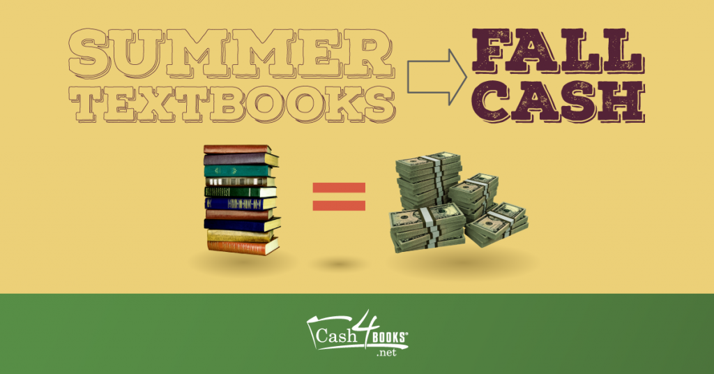 Sell your used textbooks for fall cash