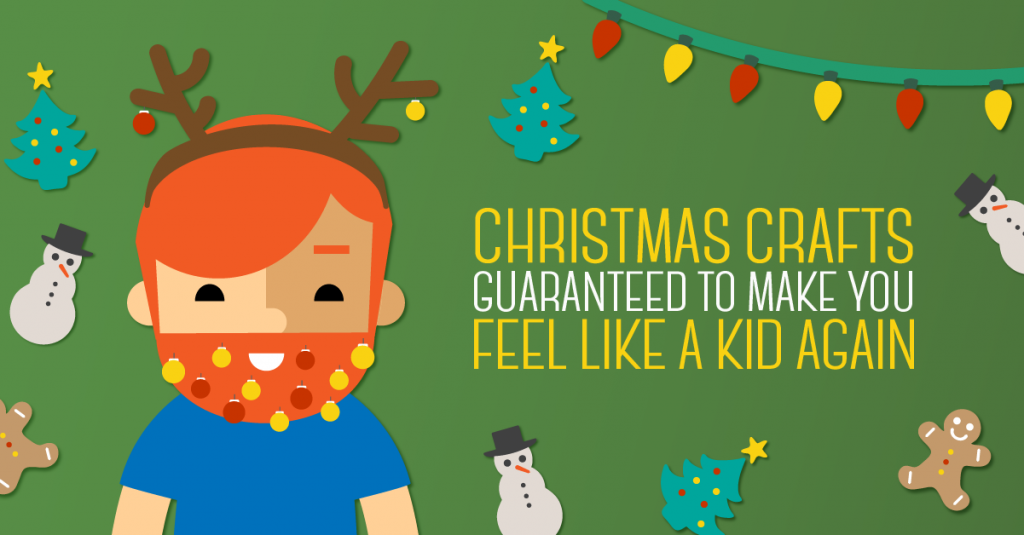 Cash4Books_12.15_Christmas Crafts Guaranteed to Make You Feel Like a Kid Again_Blog