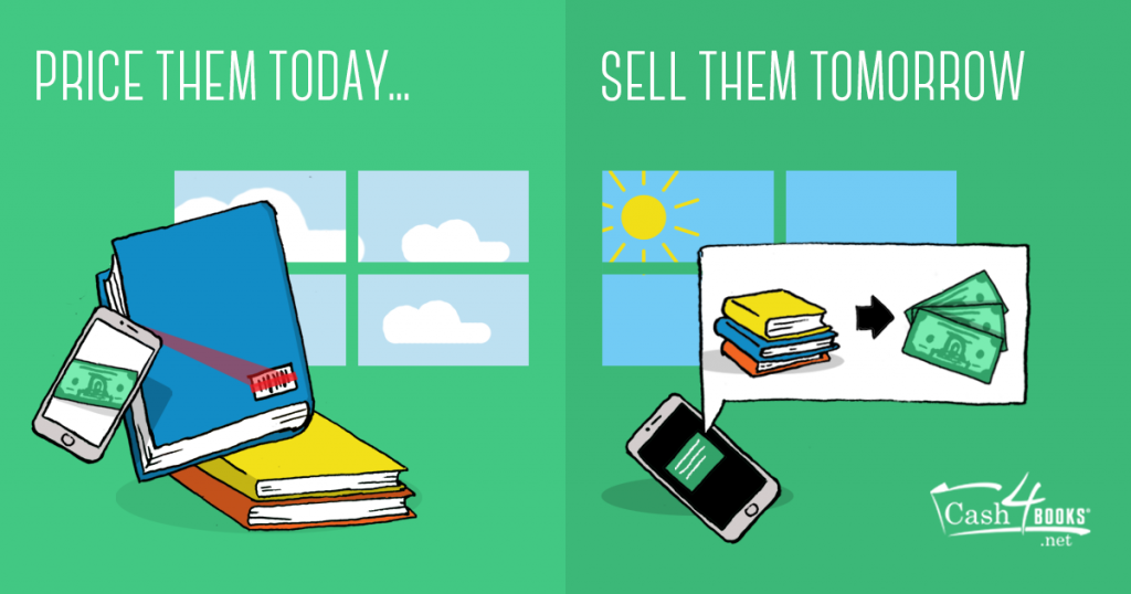 Price your books today, sell them tomorrow