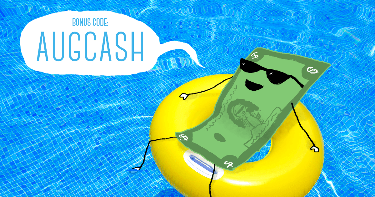 August Bonus Code AUGCASH | Cash4Books