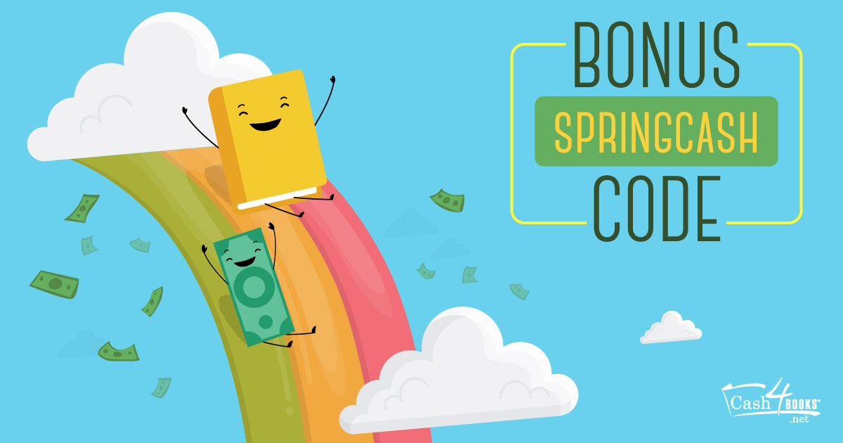 Spend spring break in style. Sell your books, get 10 percent bonus cash, and be entered to win a $100 gift card to Hotels.com!