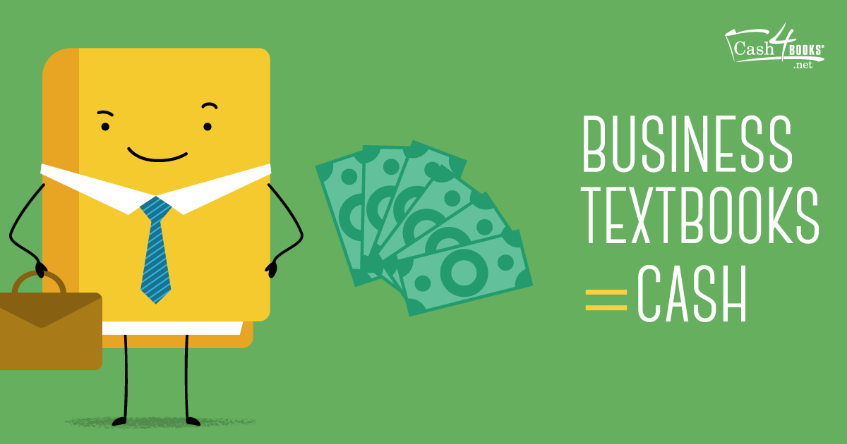 Put extra money in your pocket by selling your business textbooks