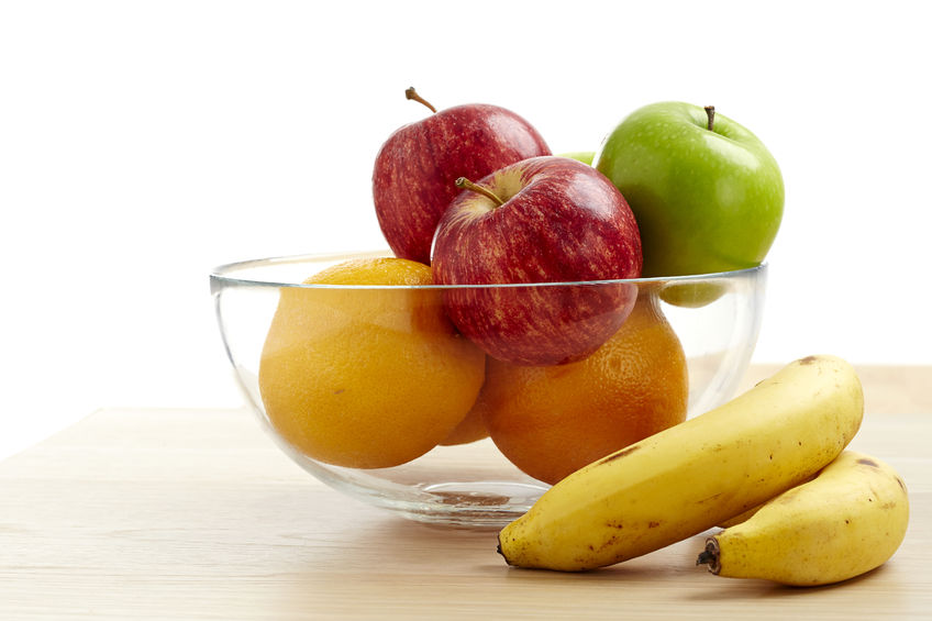 Keep pesky fruit flies out of the good stuff by pointing a fan over your fruit bowl.