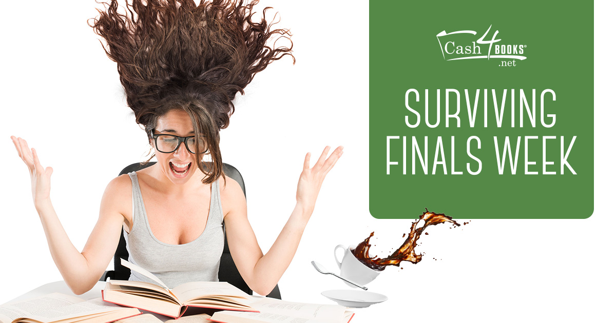 Finals week can be full of stress. Not to worry, we've got five no-fail tips to get you through this difficult time.