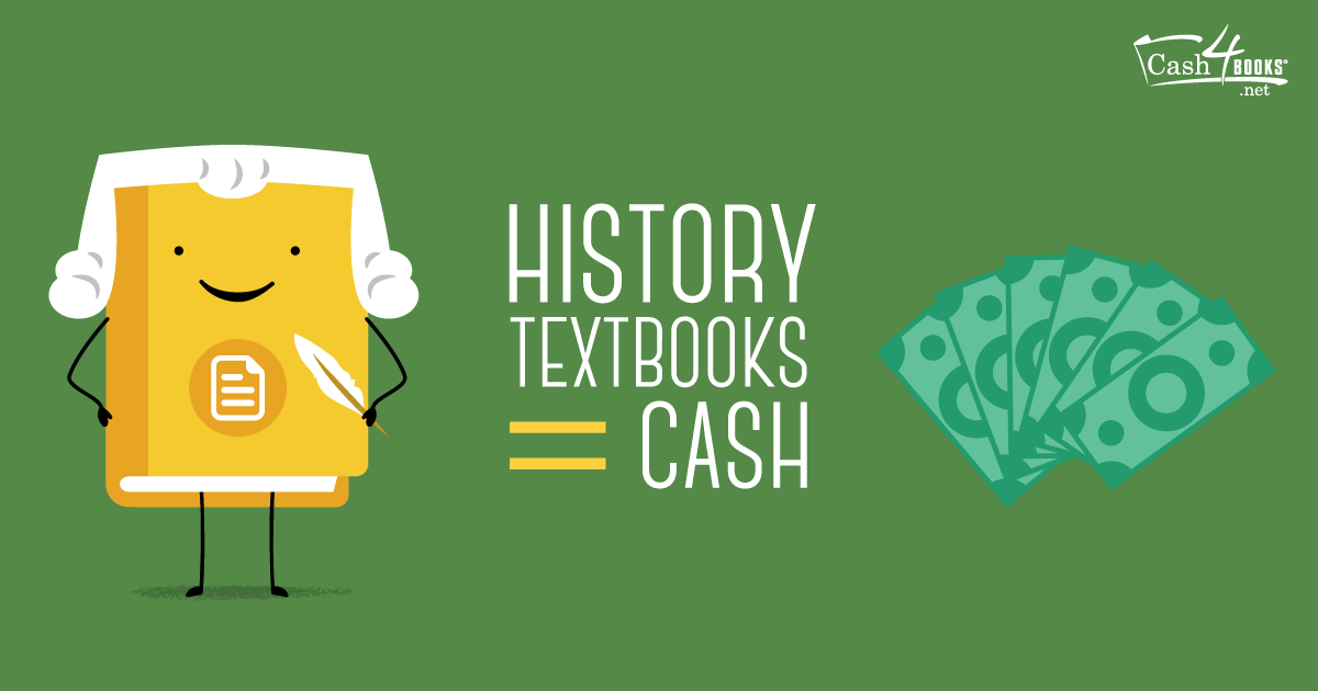 From art history to world history, see how selling  your history textbooks can help you make extra money.