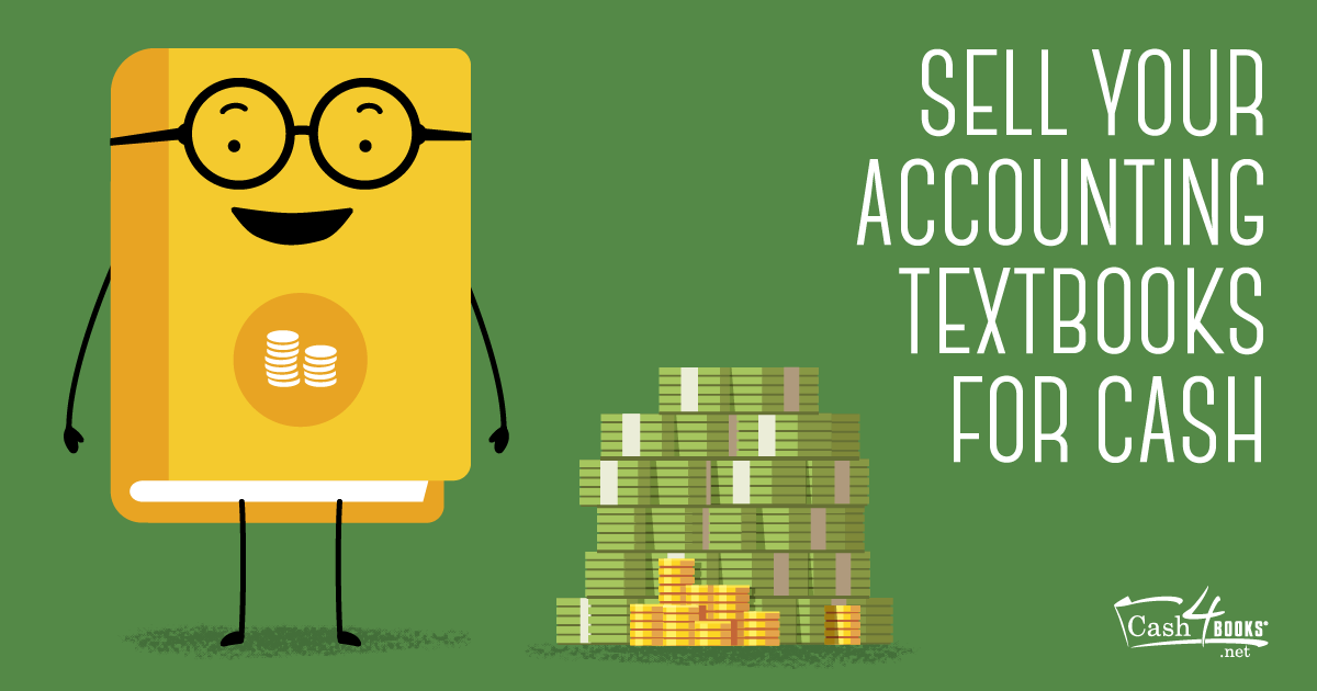 Selling your accounting textbooks at the end of the term is fast, easy money for college students.