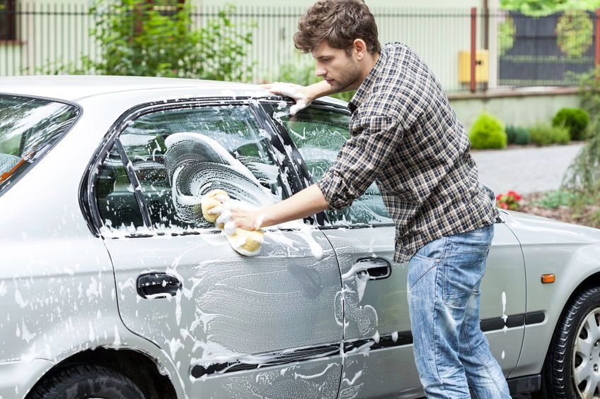 Start your own car washing business for the summer.