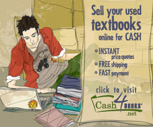 Sell textbooks online at Cash4Books.net