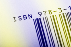The ISBN is usually found on the back cover