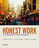 Honest Work: A Business Ethics Reader