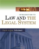 Intro Law Legal System