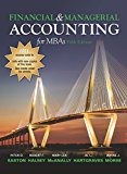 Financial & Managerial Accounting for MBAs 5th Edition