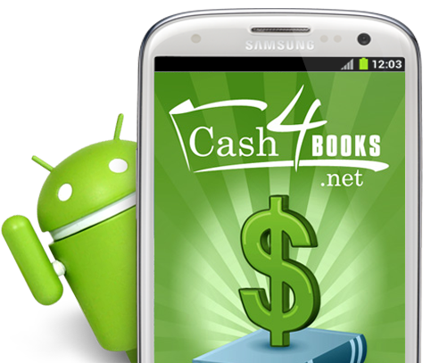 Scan Books with our Android App Barcode Scanner | Cash4Books